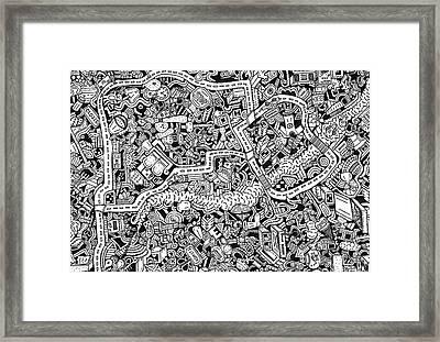 The Trip Framed Print