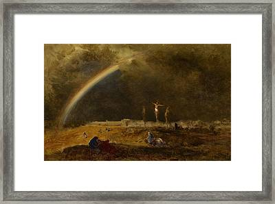 The Triumph At Calvary Framed Print