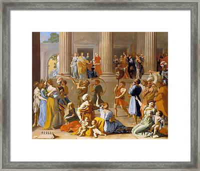 The Triumph Of David Framed Print by Mountain Dreams