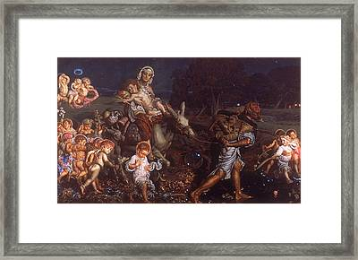 The Triumph Of The Innocents  Framed Print