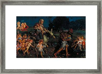 The Triumph Of The Innocents Framed Print by Mountain Dreams