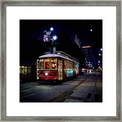 Framed Print featuring the photograph The Trolley by Evgeny Vasenev