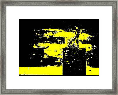 The Trone Framed Print by Teo Spiller
