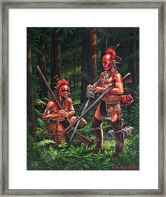 The Trophy Framed Print