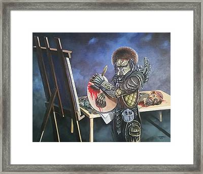 The Trophy Framed Print by James Rodgers