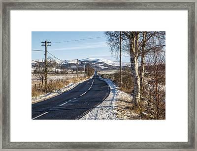 The Trossachs National Park In Scotland Framed Print