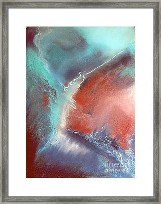 The Trouble Between You And I Framed Print by Shirley McMahon