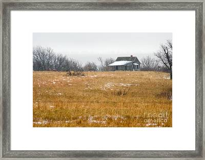 The Truck Aint Runnin Either  Framed Print by Fred Lassmann