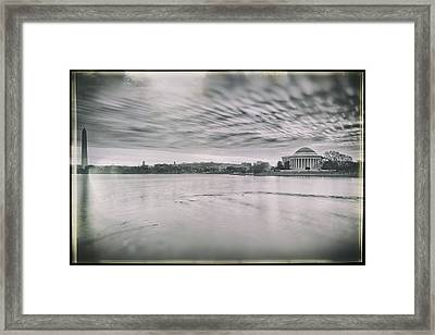 Framed Print featuring the photograph The Trump State by Edward Kreis
