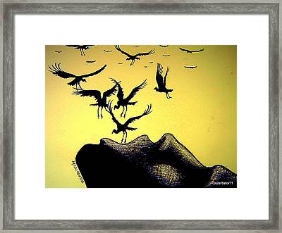 The Truth Is Inside Framed Print