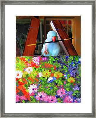 The Truth Is Out Framed Print by Michael Durst