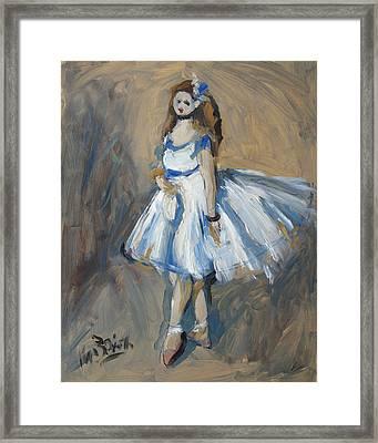 The Truth Lies Between Aguste Renoir And Marlene Dumas Framed Print