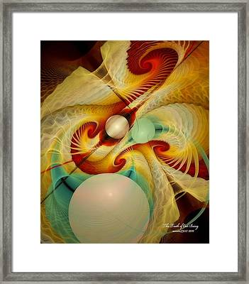 The Truth Of Our Being Framed Print by Gayle Odsather