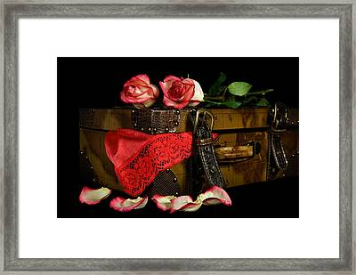 The Tryst Framed Print by Maria Dryfhout