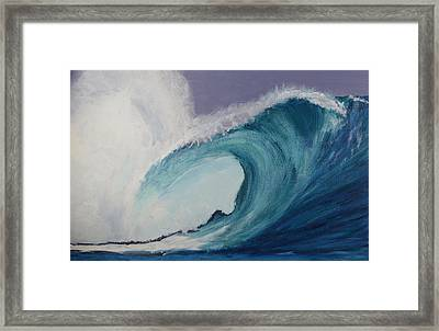 The Tube Framed Print