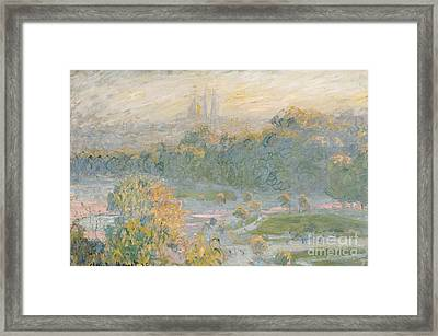 The Tuileries Framed Print by Claude Monet