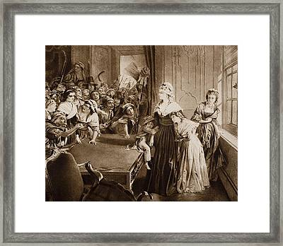 The Tuileries, June 20, 1792. From The Framed Print