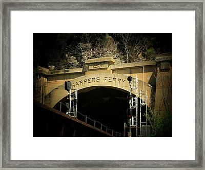 The Tunnel Framed Print by Joyce Kimble Smith