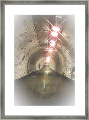 The Tunnel Framed Print by Martin Newman