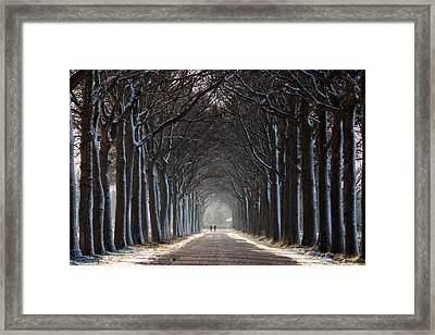 The Tunnel Framed Print by Martin Podt