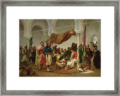 The Turkish Cafe Framed Print