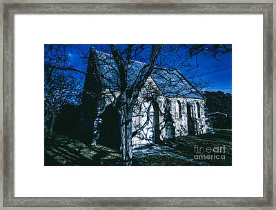 The Twilight Abbey Framed Print by Jorgo Photography - Wall Art Gallery