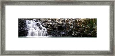 The Twin Falls Framed Print