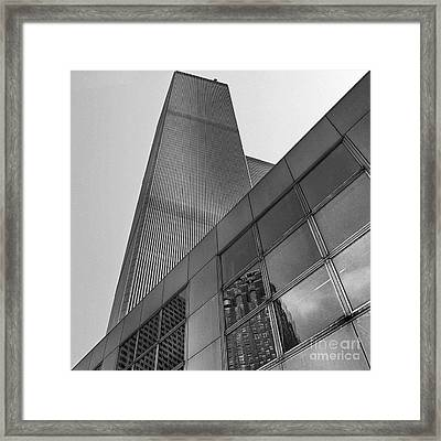 The Twin Tower Framed Print by Serge Chriqui