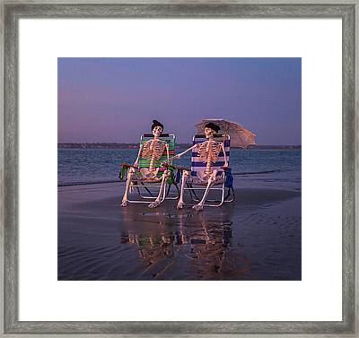 The Twins Framed Print by Betsy Knapp