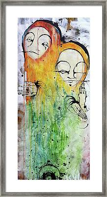 The Twins Framed Print by Mark M  Mellon