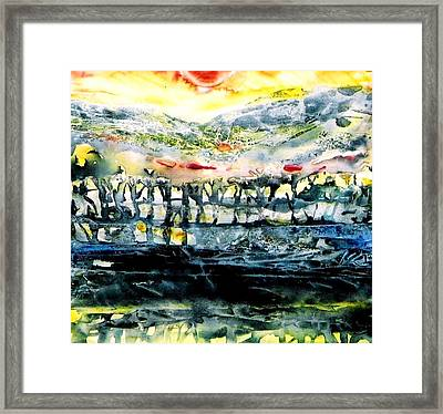 The Twisted Reach Of Crazy Sorrow Framed Print by Trudi Doyle