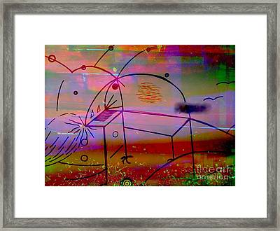 The Two Assistants Framed Print by LeRoy Banks