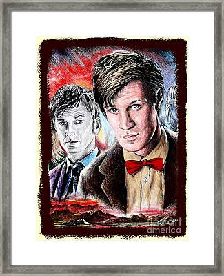 The Two Doctors Framed Print by Andrew Read