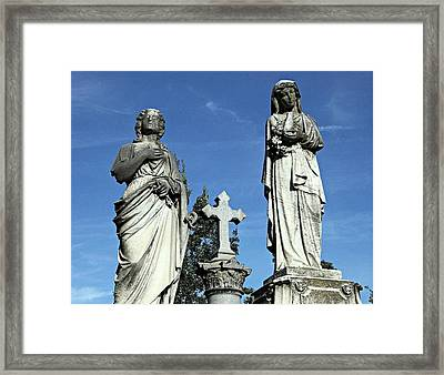 The Two Mary's Framed Print by James DeFazio