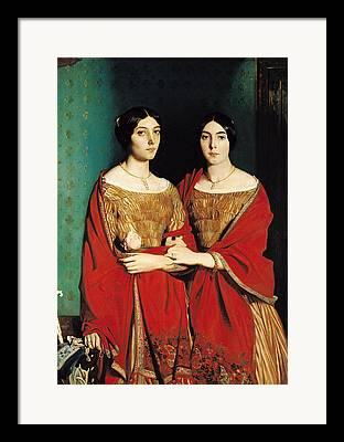 Genevieve Framed Prints