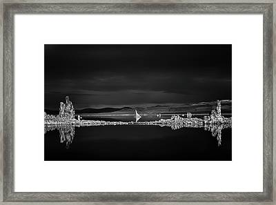 The Two Towers Framed Print by Joseph Smith