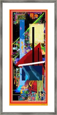 The Tzaddik Lives On Emunah 18 Framed Print