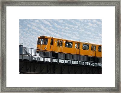 The U 1 Framed Print