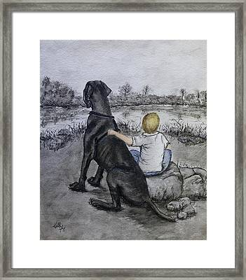 The Ultimate Best Friend Framed Print