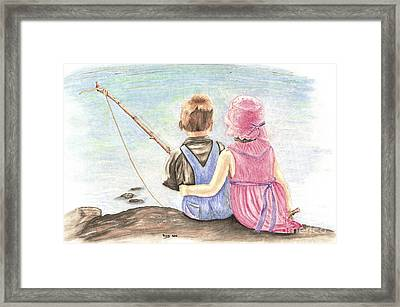 The Ultimate Fishing Trip Framed Print by Russ  Smith
