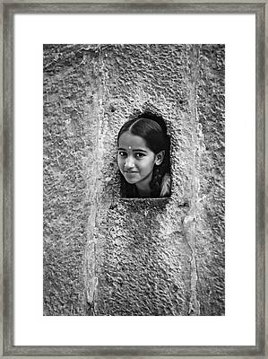 The Ultimate Picture Frame Bw Framed Print