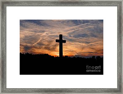 The Ultimate Sacrifice Framed Print by Benanne Stiens