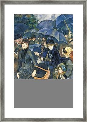 The Umbrellas Framed Print by Pierre Auguste Renoir