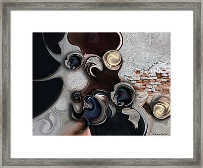 The Unconscious Reality Framed Print
