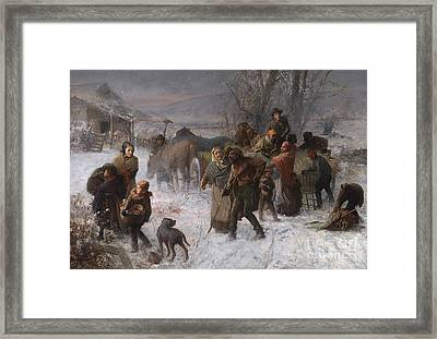 The Underground Railroad Framed Print