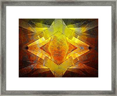 The Underlined Philosophy Framed Print by Contemporary Art