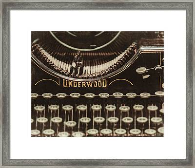 The Underwood Framed Print by Lisa Russo