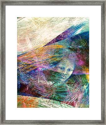 The Undine Framed Print by Sue Reed