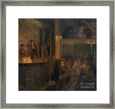 The Unfaithful Wife Or The Charcoal  Framed Print by MotionAge Designs