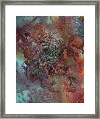 The Unfathoming Framed Print by Ethan Harris